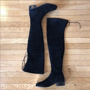 Frye Taylor Stretch Thigh High Suede Over-The-Knee